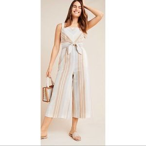Free People Savannah Striped Jumpsuit